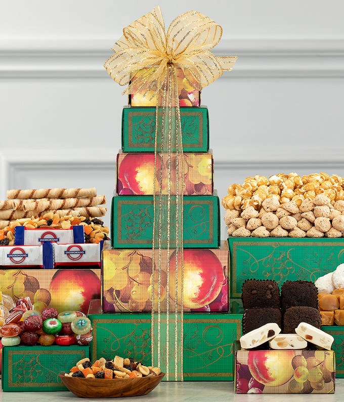 Sweet Harvest Gift Tower