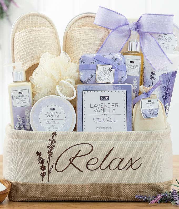 Lavish Lavender Spa Set