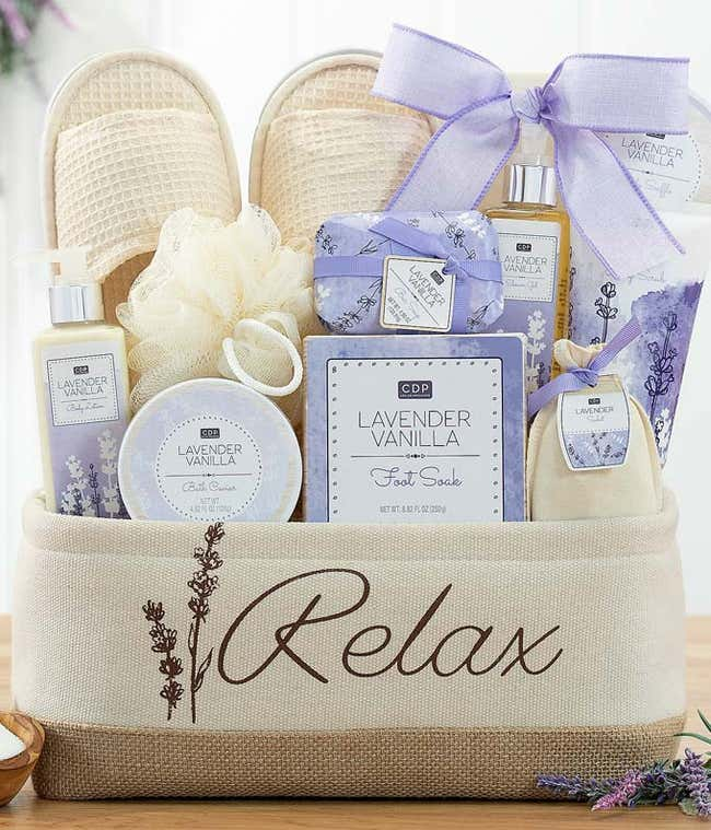 Lavish Lavender Spa Set