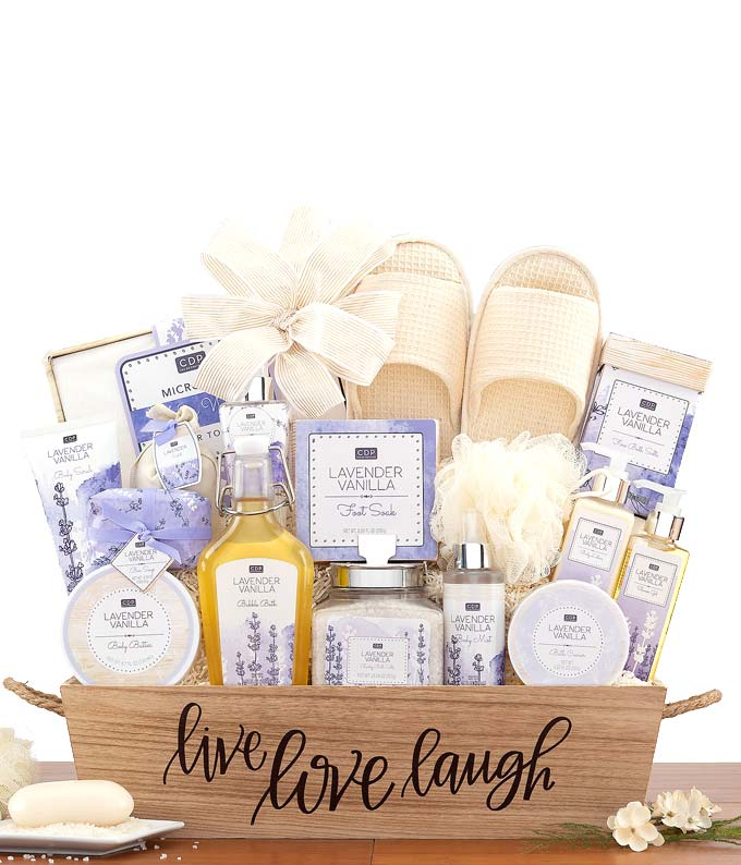 Love and Laughter Lavender Spa Set