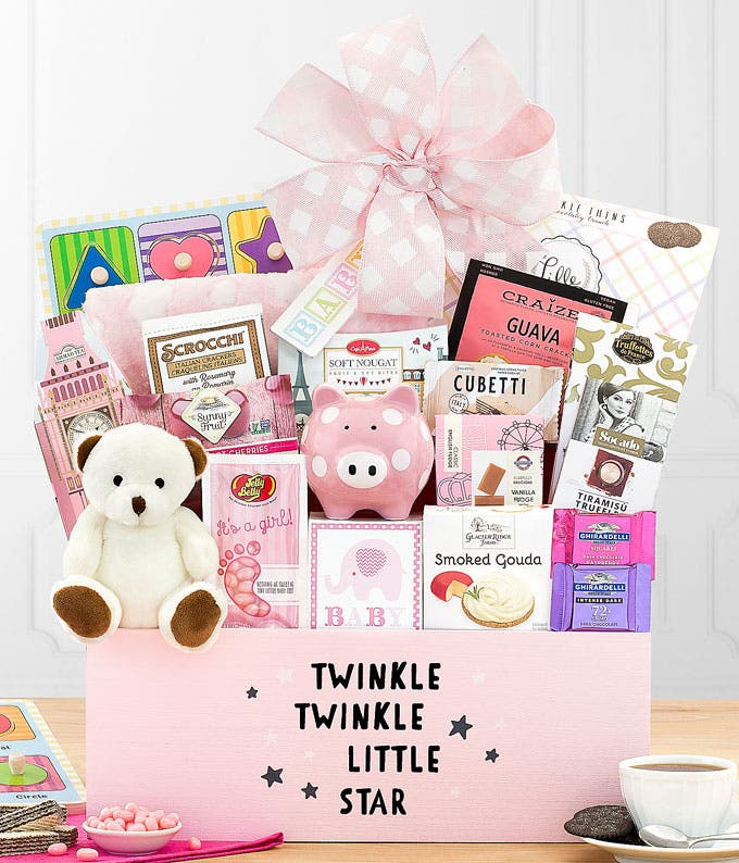 Sweetest New Baby Gift Box - Pink