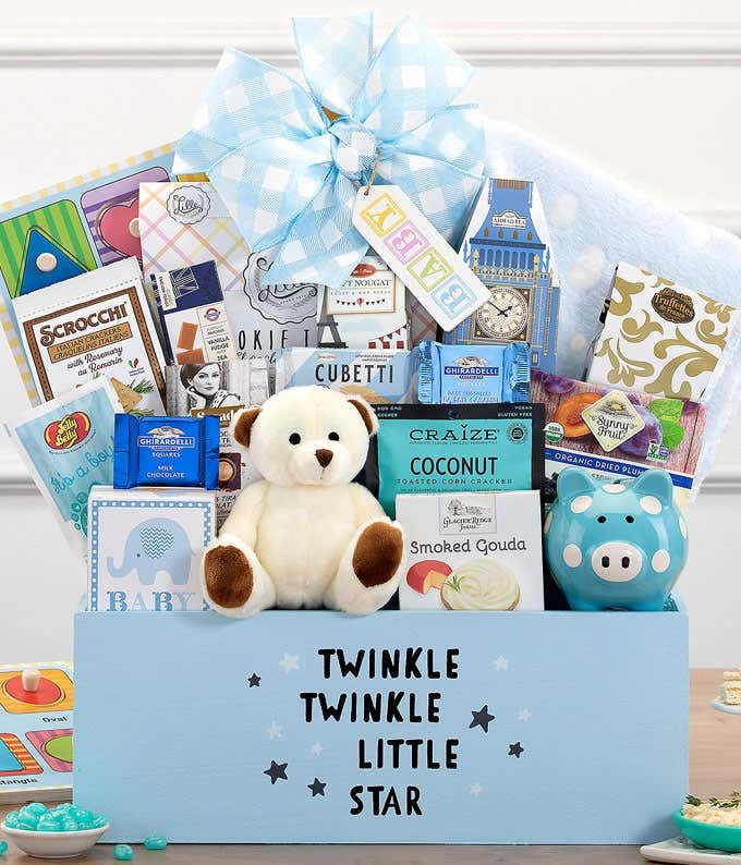 Sweetest New Baby Gift Box - Blue