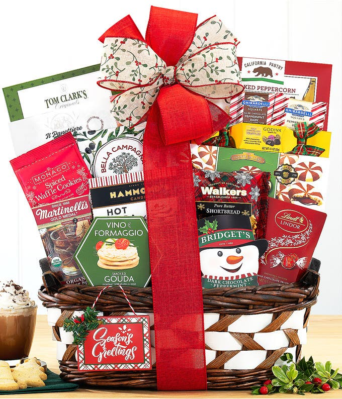 Season's Eatings Gift Basket