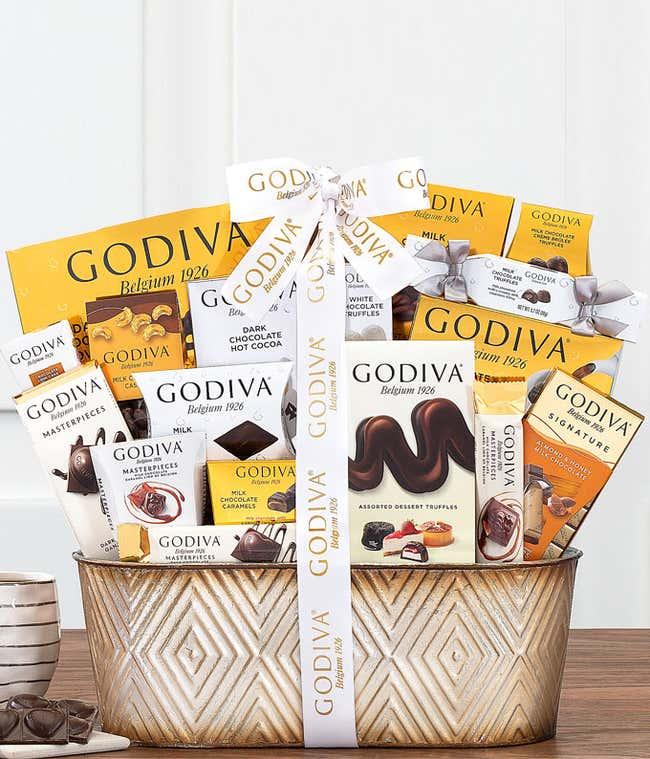 Premium Godiva Gift Basket