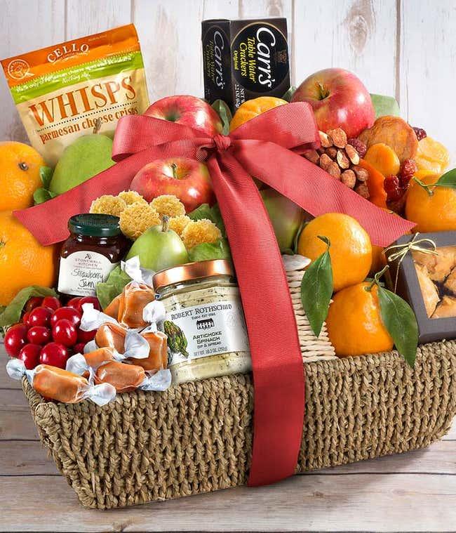 Simply S-peach-less Fruit Basket