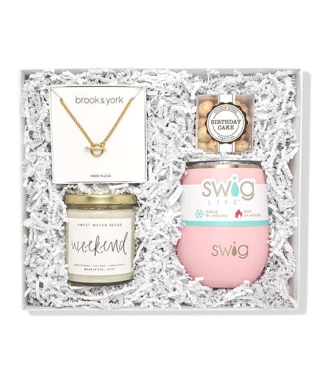 Jewelry & Cocktails Gift Box Set