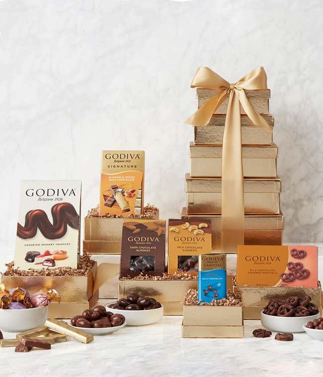 Godiva Chocolate Holiday Tower