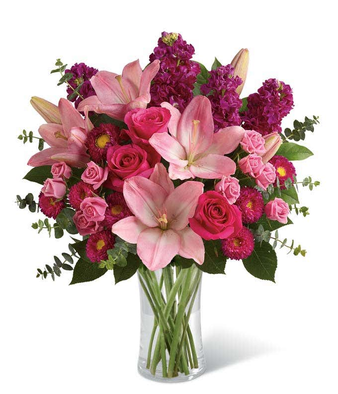Bedazzled By Roses & Lilies