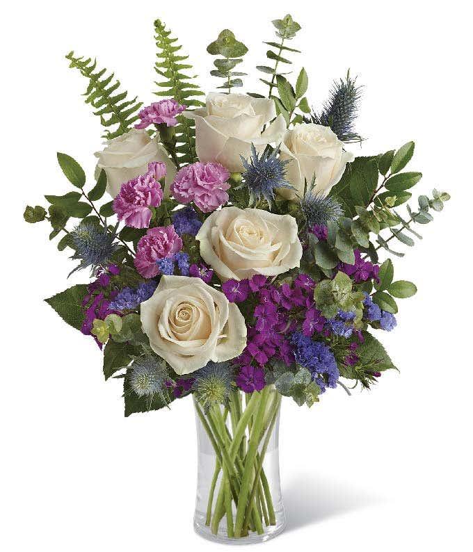 Natural Blue Bouquet