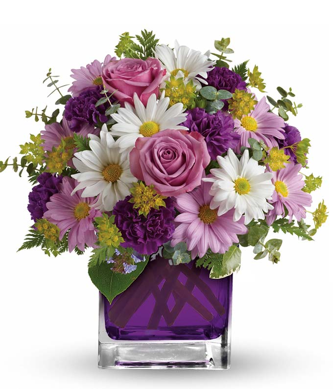 Color Me Purple Bouquet
