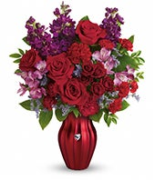 Shiny Heart Bouquet