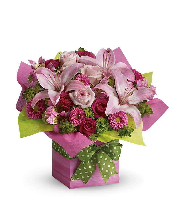 Pretty Pink Present