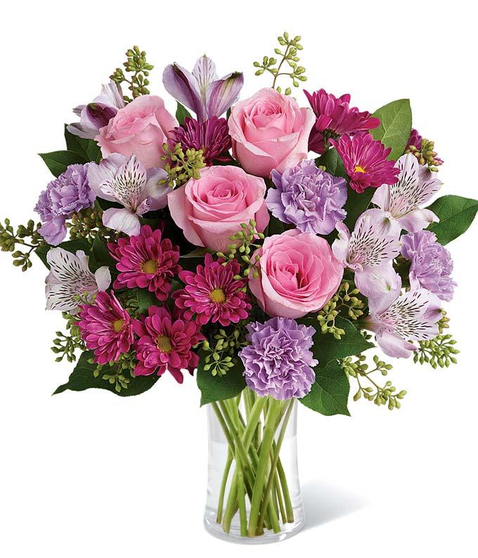 Pink Bubbles Bouquet