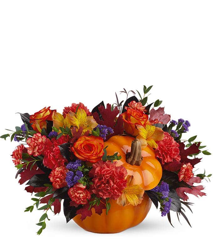 Spooky Sweet Pumpkin Bouquet
