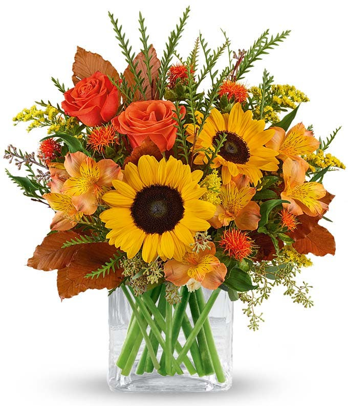 Thankful for Sunflowers Bouquet