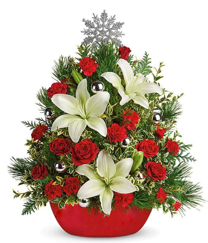 Mistletoe Kisses Christmas Tree