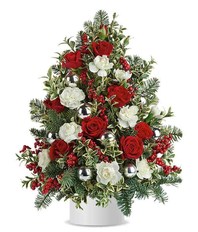 Snowcapped Christmas Tree