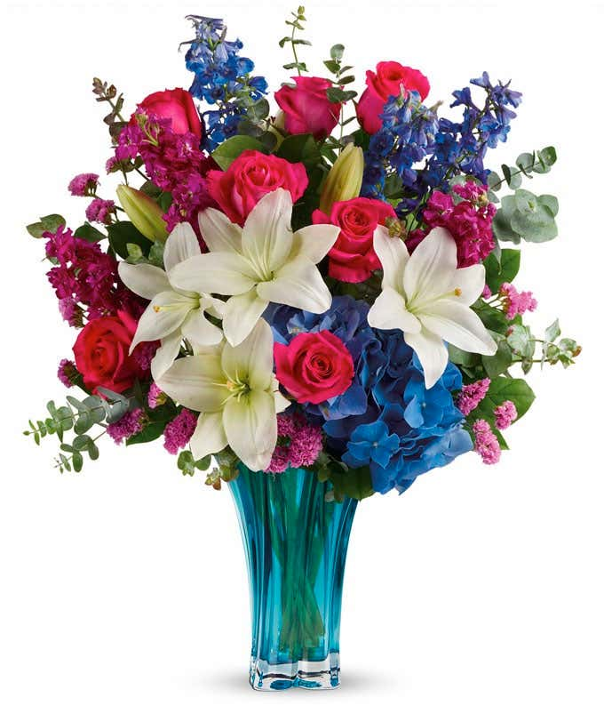 Blue Raspberry Bouquet