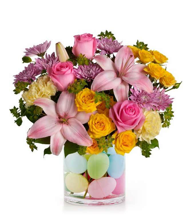 Eggcelent Pastel Bouquet