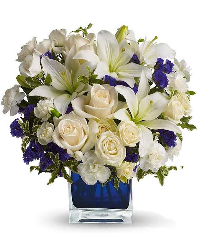 Clear Blue Skies Bouquet