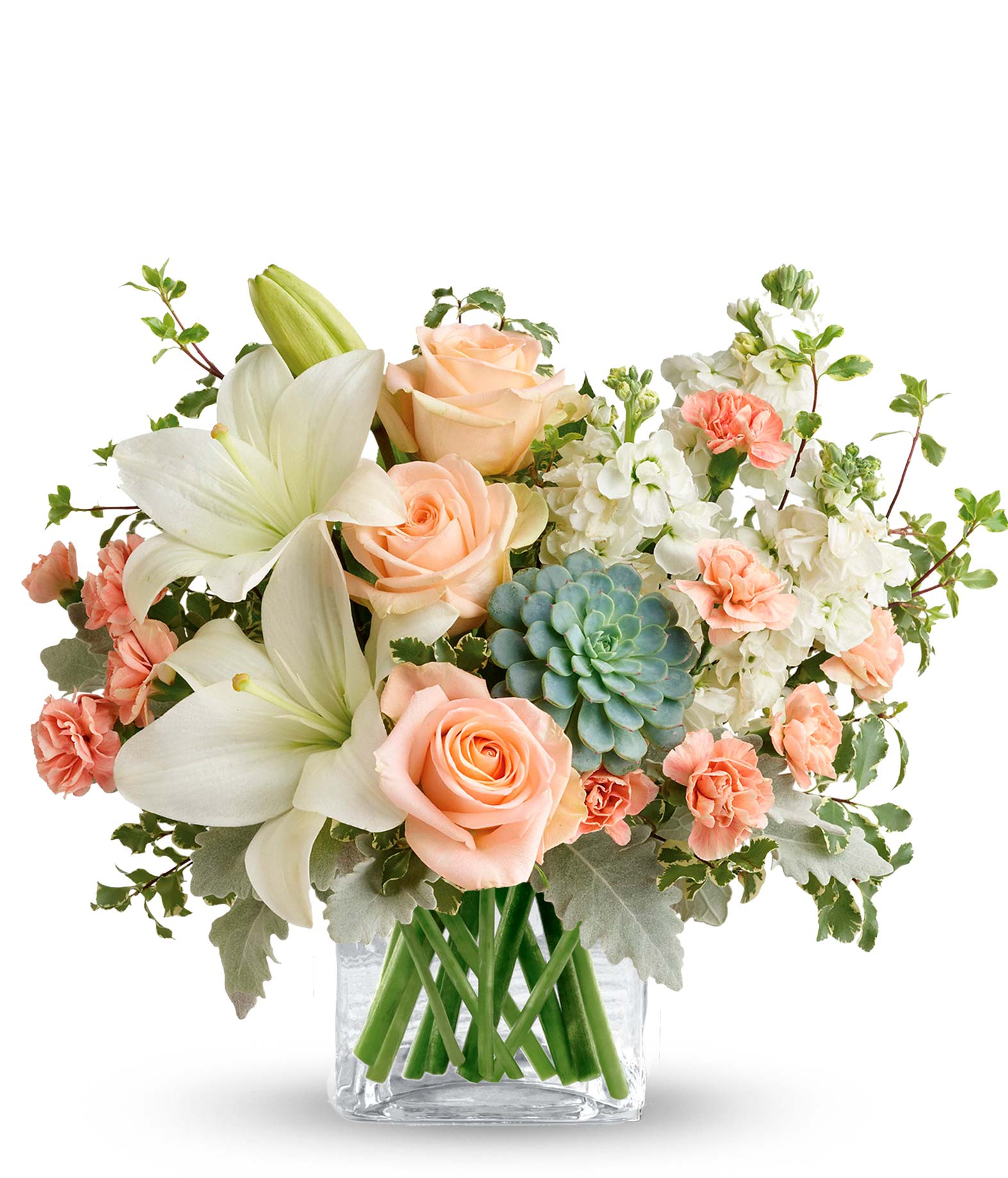 Southern Peach Bouquet