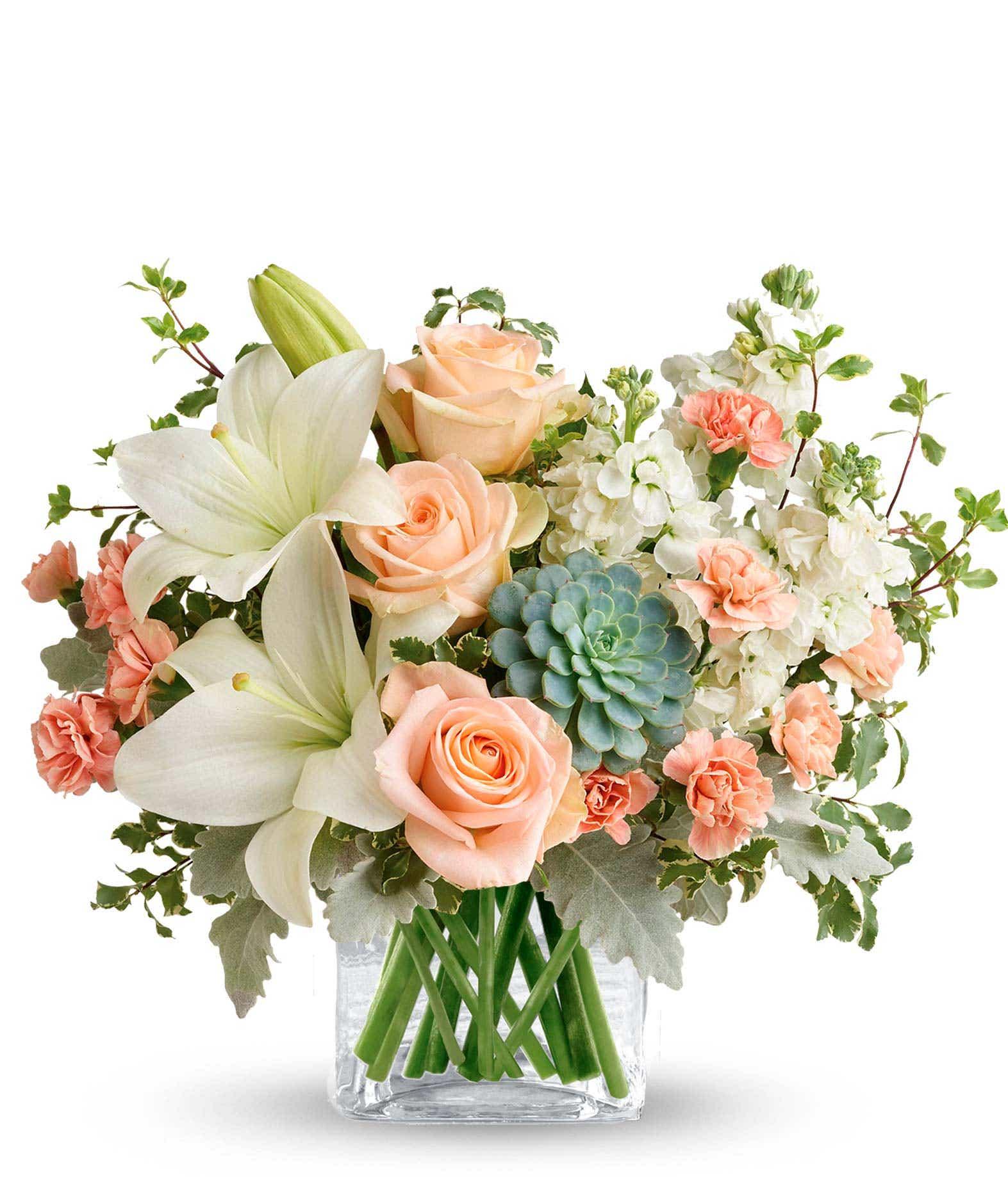 Southern Peach Bouquet