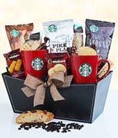 Classic Starbucks Gift Basket