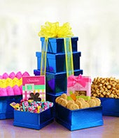 Peeps, cookies and chocolate delivered in a Easter gift