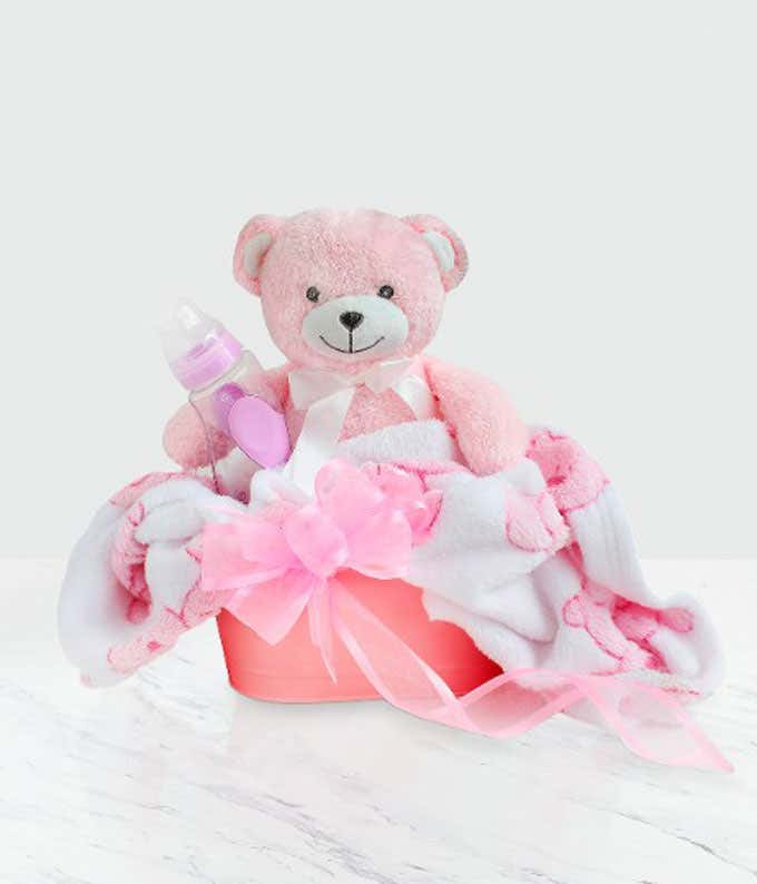 Treasured Baby Girl Gift