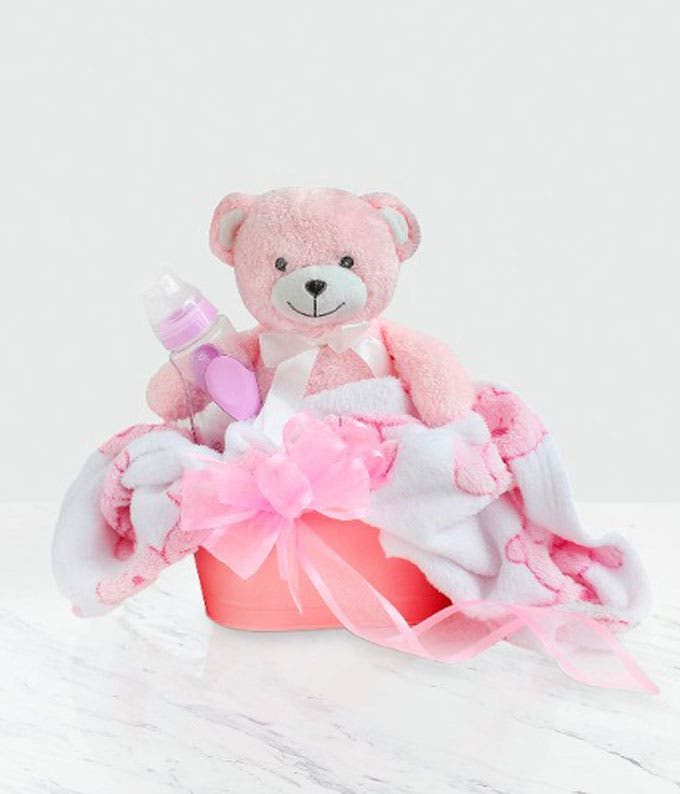 Treasured Baby Girl Gift