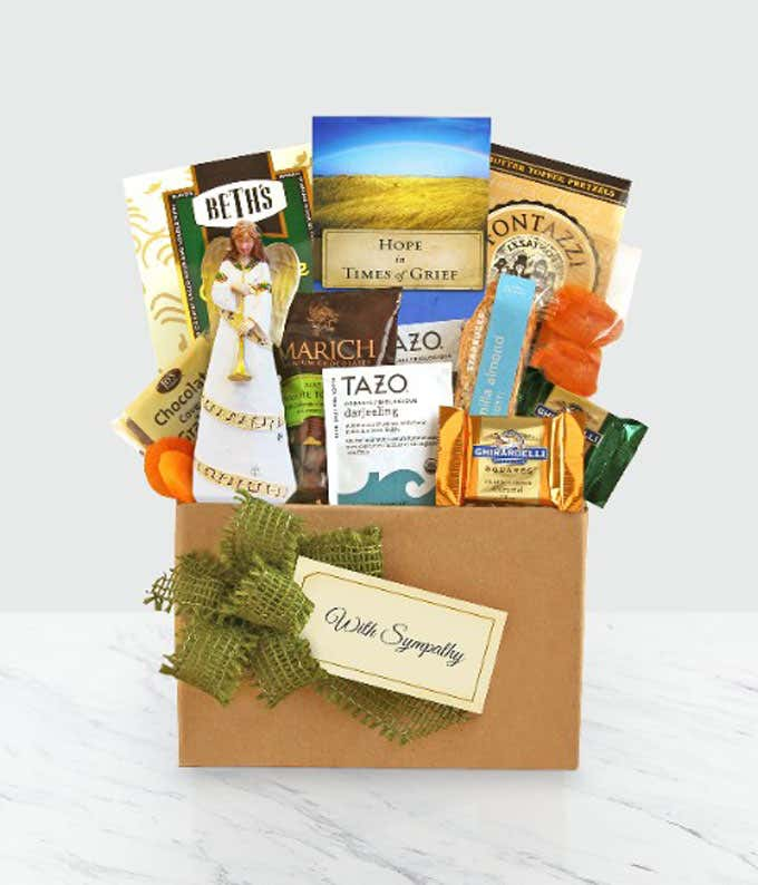 Blessed Angel Sympathy Basket