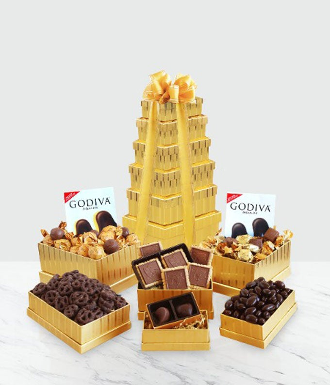 Godiva Golden Tower