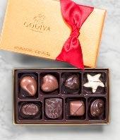 Godiva� Valentine's Day Gold Ballotin - 8 piece
