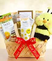 Bee Well Soon Gift Basket