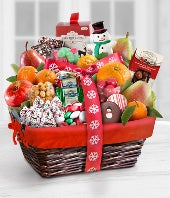 Merry Mix Holiday Gourmet Gift Basket