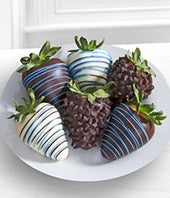 Chocolate Dip Delights� Just for You Dad Fathers Day Chocolate Covered Strawberries - 6-piece