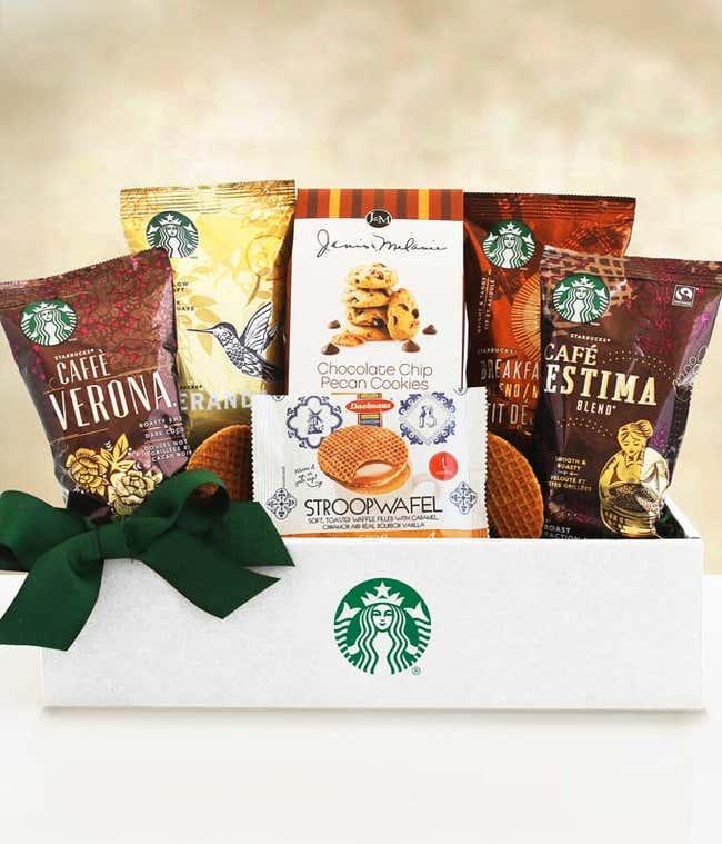 Starbucks sampler gift basket