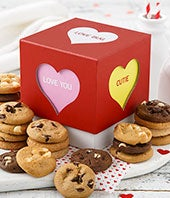 Mrs. Fields� Tempting Treats Valentine Trunk