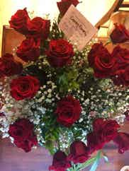 red roses delivered to Bakersfield, CA