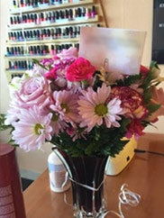 birthday flowers delivered to Dallas customer photo