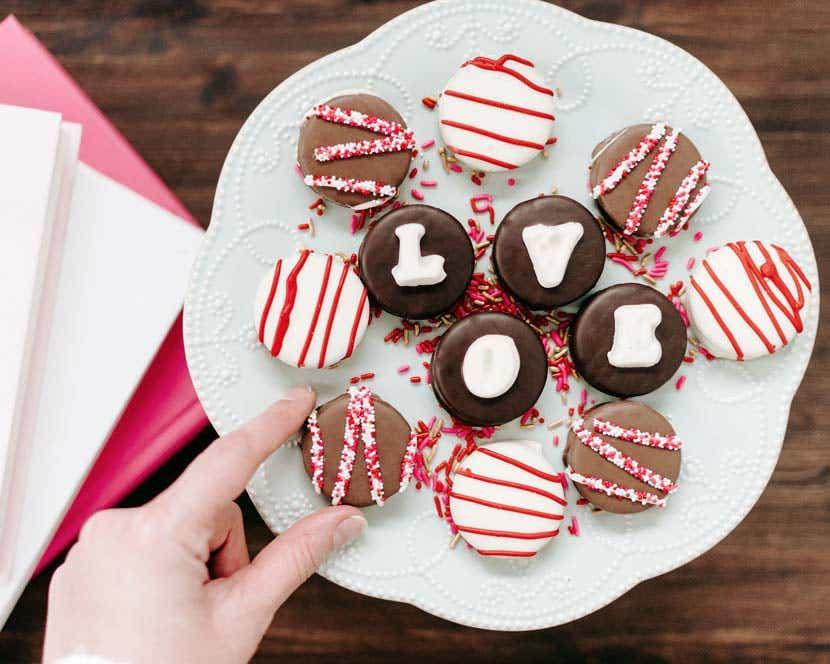 Valentine's Day Chocolate Covered