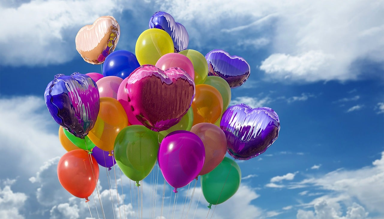 Most popular month for birthdays answered and birthday party balloons